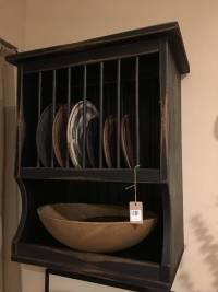 Wooden Plate Shelf & Wooden Wall Plate Rack Wooden Plate ...