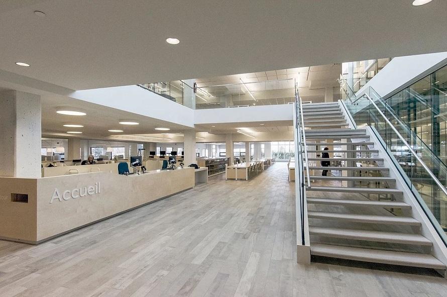 Bibliothque du Cgep Garneau  LumiGroup