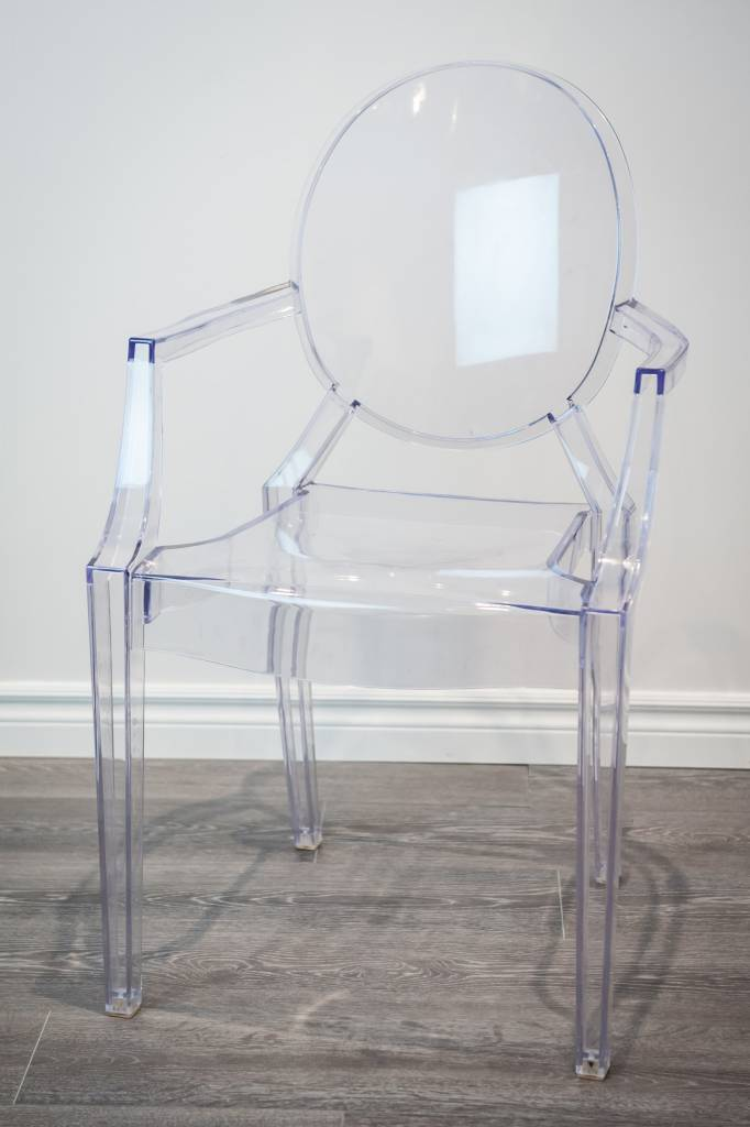 ghost chair rental red and blue clear 1day victoria party store