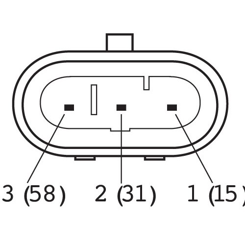 2 Pin Automotive Electrical Connectors. Diagrams. Wiring