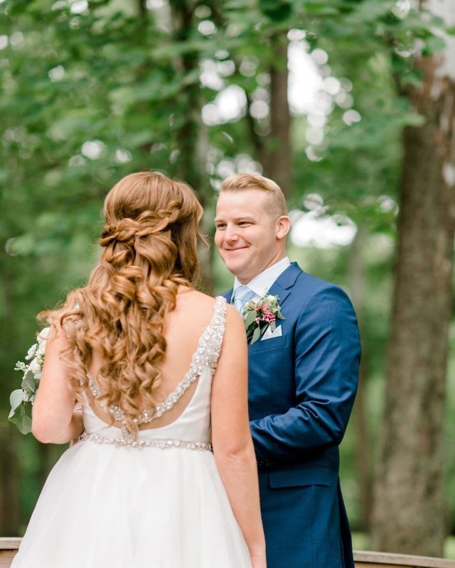 wedding hair and makeup in indianapolis