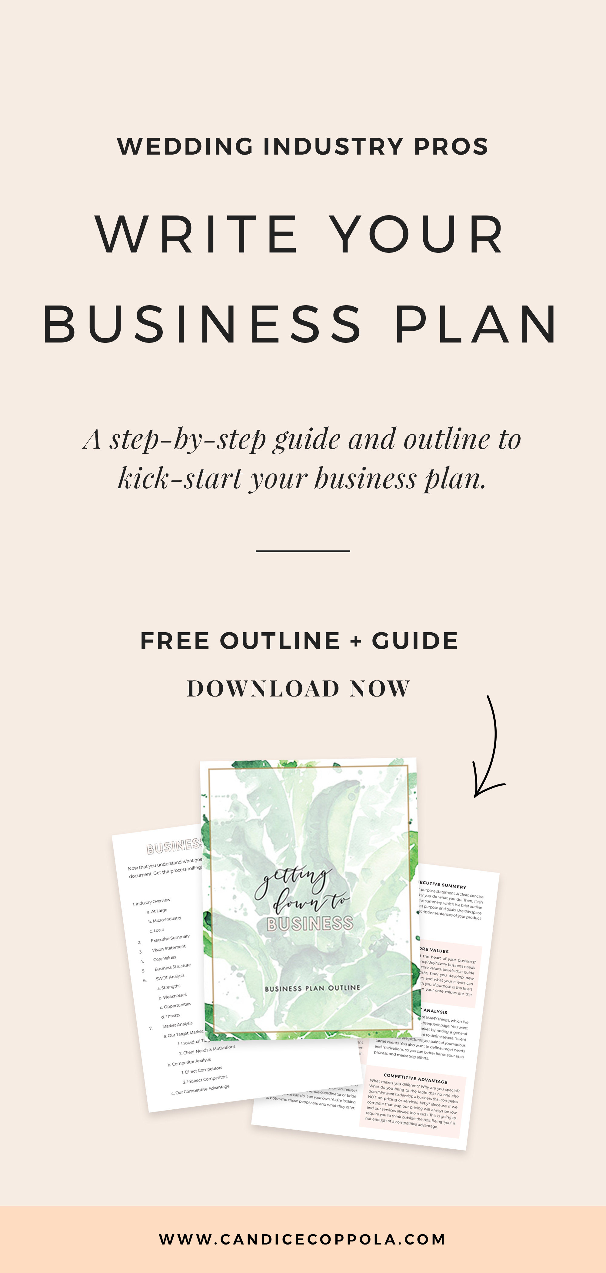 Free Wedding Planner Business Plan Template