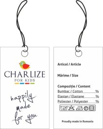 Eticheta carton Charlize for Kids