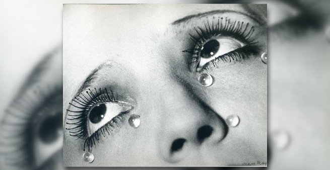 Glass Tears - Man Ray