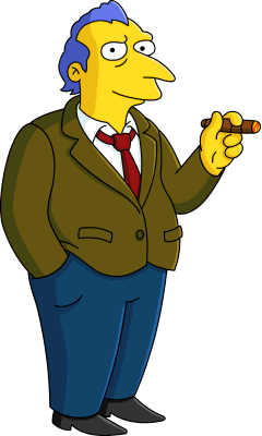 Roger Meyers Jr Wikisimpsons The Simpsons Wiki