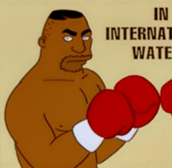 mike tyson wikisimpsons the simpsons