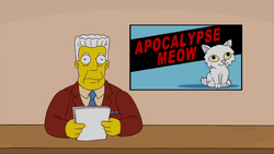 House Cat Flu - Wikisimpsons, the Simpsons Wiki