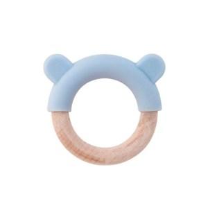 SARO - Nature Toy Mordedor Orelhinhas Azul