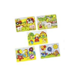 Goki - Puzzle de Encaixes