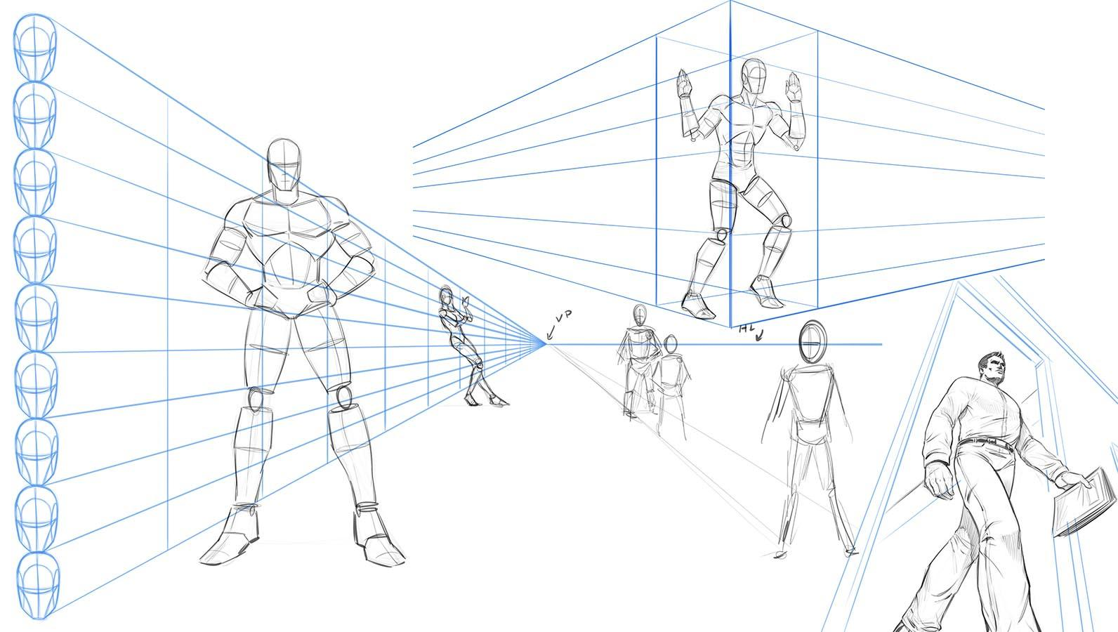 hight resolution of in this class we will cover various techniques for drawing the body in perspective you will also learn how to draw the body with foreshortening