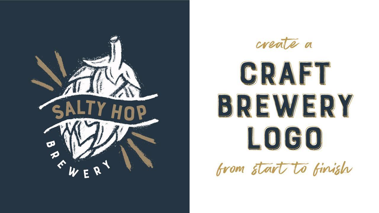 Create A Craft Brewery Logo From Start To Finish Cody Hockin Skillshare
