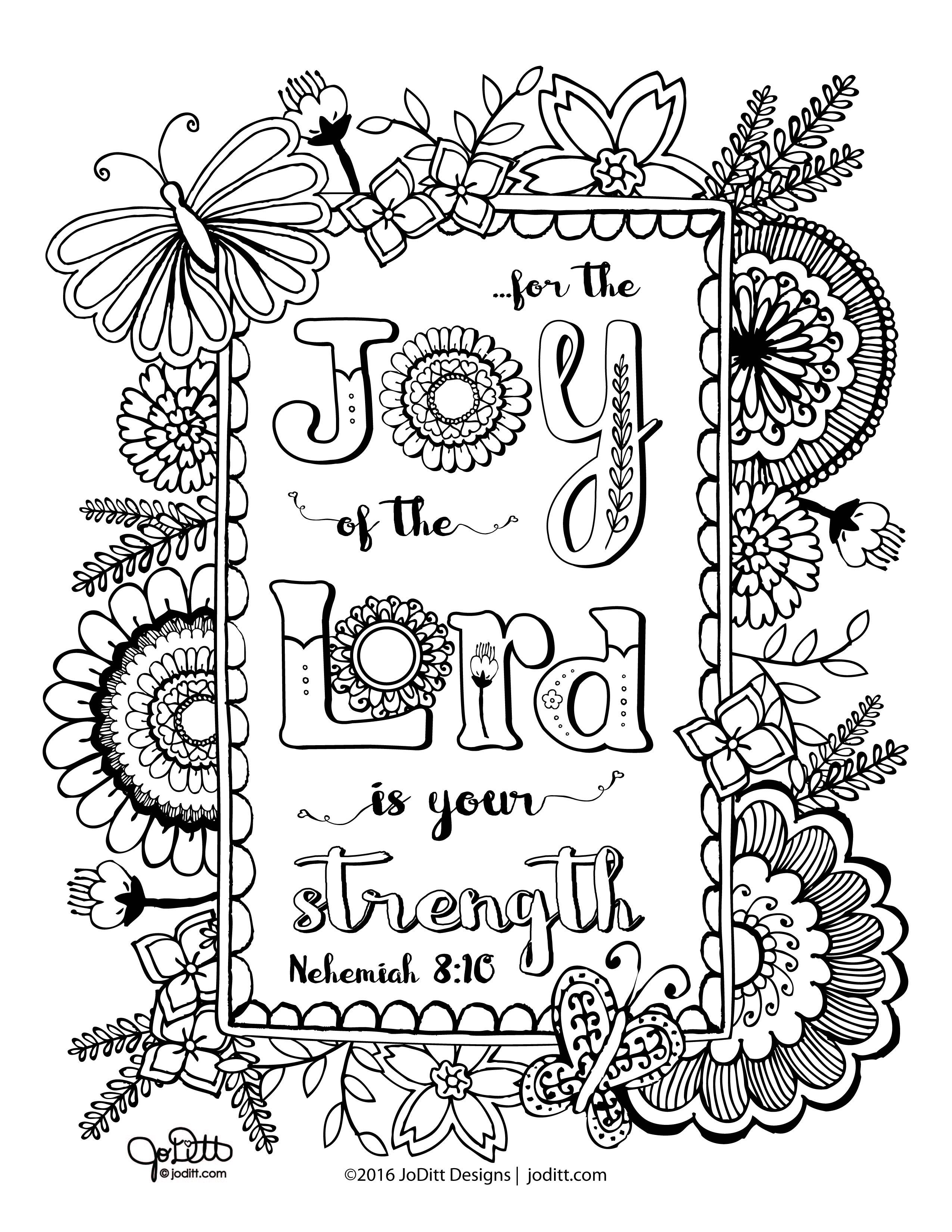 √ Nehemiah 8 Coloring Pages