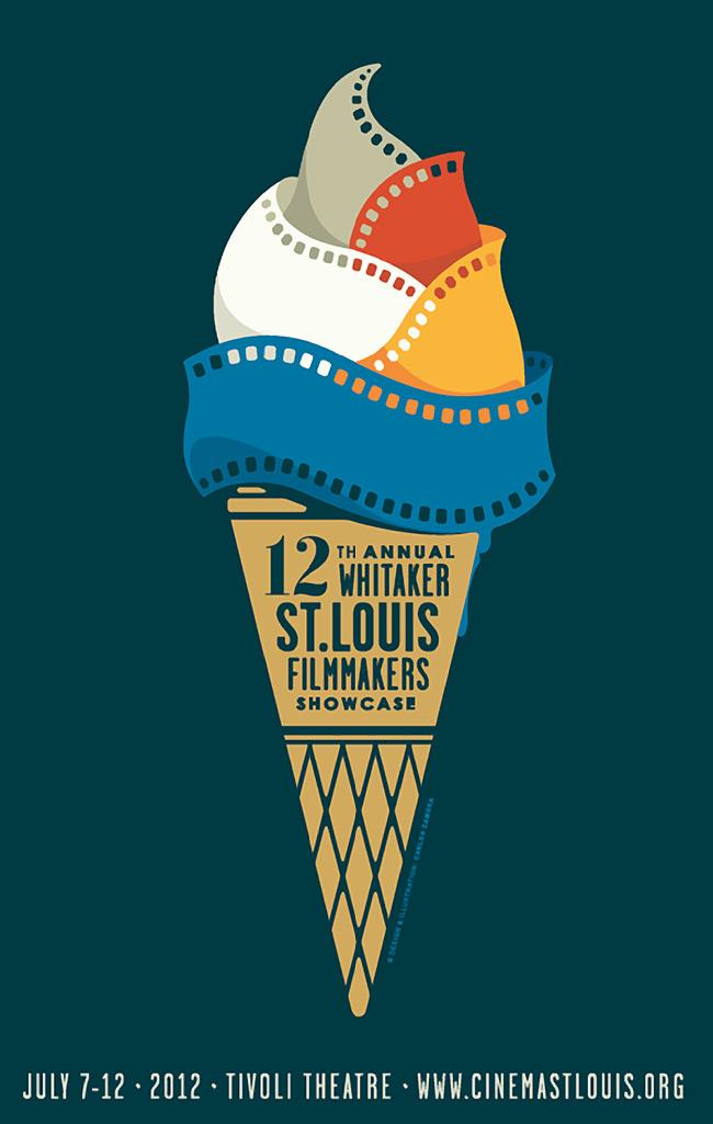 ice cream film poster skillshare