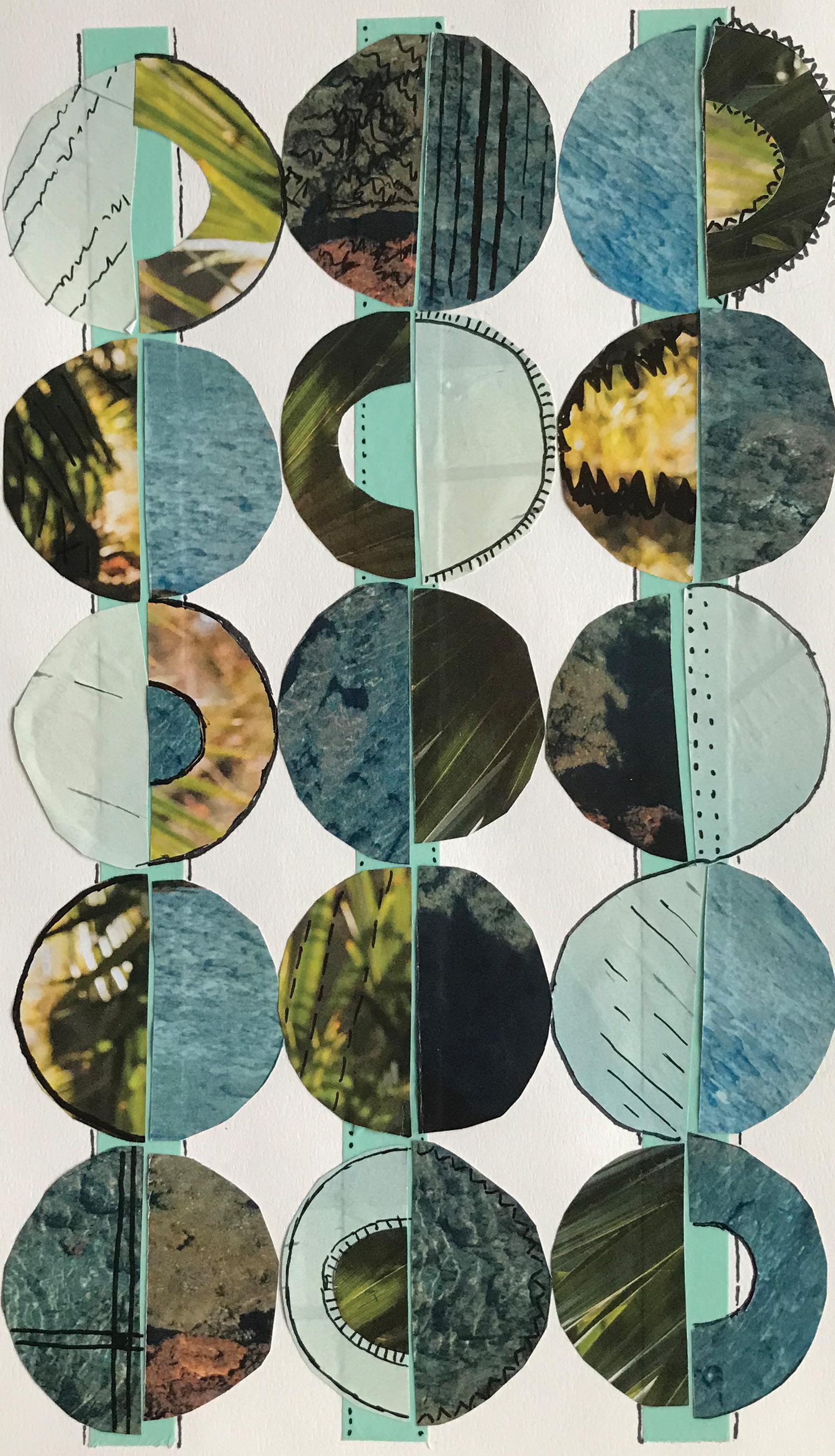 Circle Collage : circle, collage, Variations, Circle, Collage, Skillshare, Student, Project