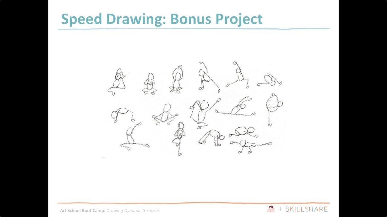 hight resolution of art school boot camp drawing dynamic gestures christine nishiyama skillshare