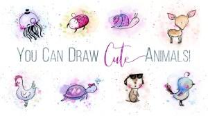 draw animal drawings animals simple skillshare steps paintingvalley
