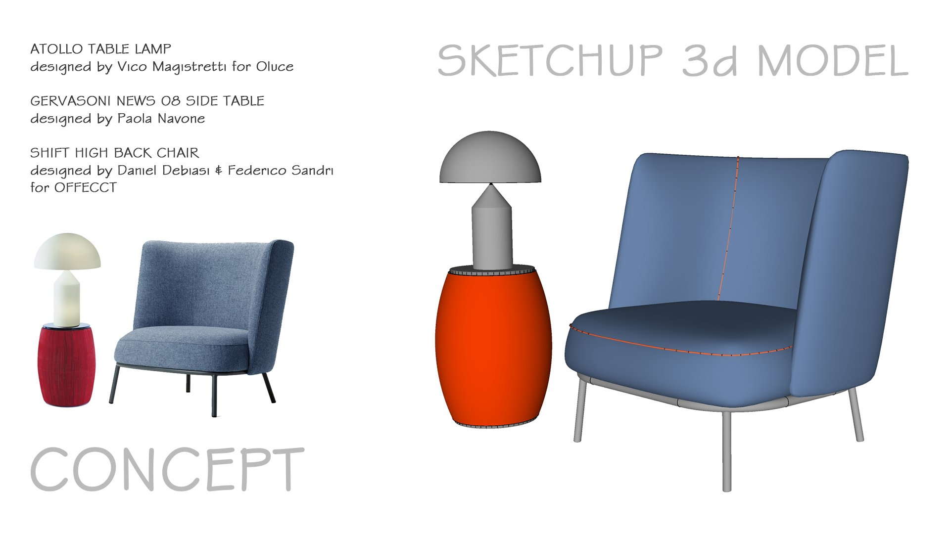 chair design sketchup metal chairs folding skillshare projects newclasses
