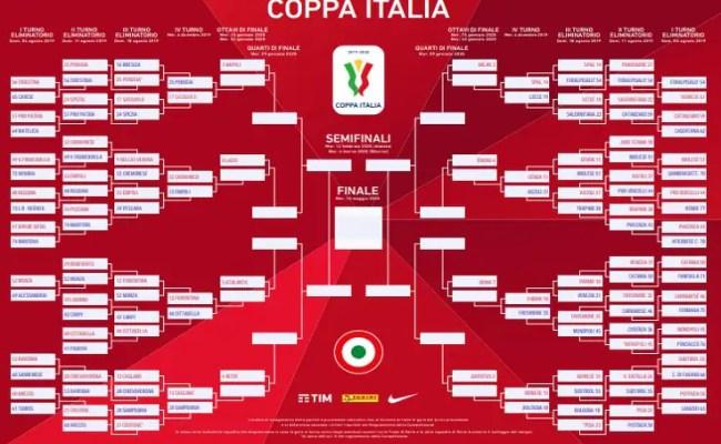 Coppa Italia 2019 Calendario E Orari Delle Partite Del 4