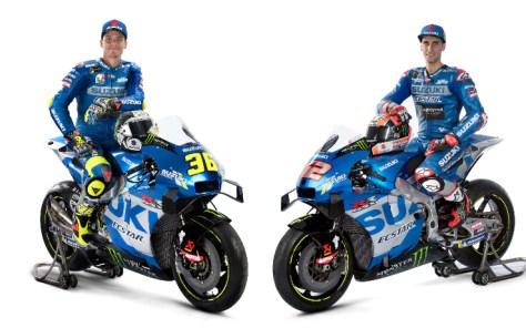 MotoGP, Suzuki 2021: presentata la nuova livrea della GSX-RR di Joan Mir e Alex Rins | Sky Sport
