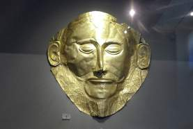 Le masque d'Agamemnon