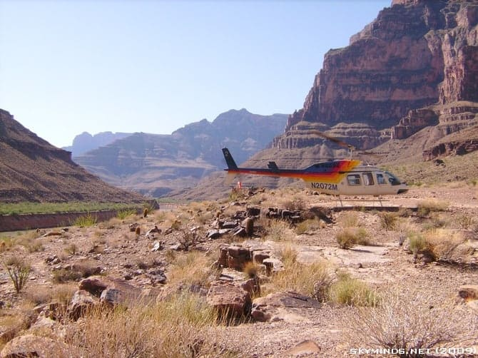 Excursion au Grand Canyon : en avion, hélicoptère et bateau photo 30