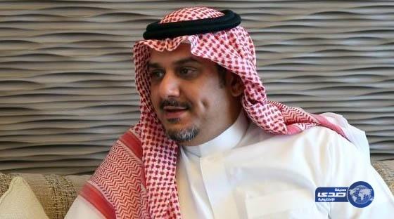 نواف بن سعد يهنئ القيادة الرشيدة بمناسبة الاحتفال باليوم الوطني