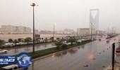 الأرصاد: استمرار هطول الأمطار الرعدية المصحوبة بنشاط في الرياح السطحية