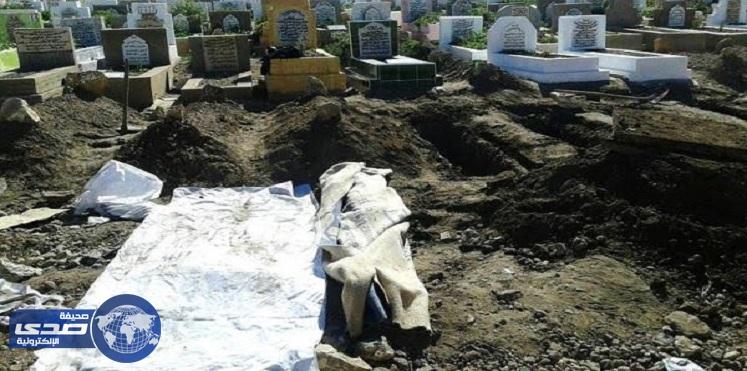 عصابة تسرق جثمان مغربي لأحتواءه علي كنز ثمين