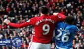 إيقاف إبراهيموفيتش 3 مباريات بسبب السلوك العنيف