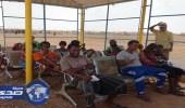 بالصور.. إغاثة 2560 لاجئاً يمنياً في جيبوتي بعيادات مركز الملك سلمان