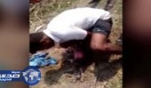 بالفيديو.. لحظة أنقاذ طفلة حديثة الولادة دٌفنت حية