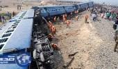 الهند.. إصابة خمسين شخصًا بسبب خروج قطار عن قضبانه