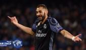 بنزيما يدخل قائمة أفضل 10 هدافين للريال بالدوري الإسباني