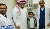 تدخل جراحي بمستشفى عسير ينقذ الطفل ثنيان من فقدان إحدى عينيه