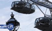 تعلق سياح في عجلة «عين لندن» بسبب الهجوم الإرهابي