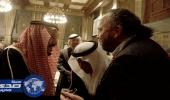 """خادم الحرمين يطمئن على صحة الإعلامي """" السيلاوي """" خلال استقباله بالأردن"""