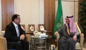 الجبير يبحث مع نظيره الإماراتي العلاقات الثنائية بين البلدين