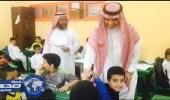 بالصور.. العيسى يتفقد ثلاث مدارس في مكة.. ويشيد بالانضباط والحضور