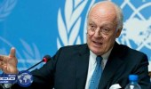 دي ميستورا: تسريع المحادثات السورية يجنبنا عام سابع من الحرب