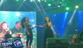 بالفيديو.. مٌعجبة تُشارك ميريام فارس الرقص علي المسرح
