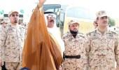 بالصور..ضباط لواء الأمن ينفذون مهارات مكافحة الشغب والتظاهر أمام وزير الحرس