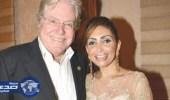خلع الفنان حسين فهمي من زوجته سيدة الأعمال السعودية