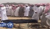 تشييع جثمان الشهيد محمد الحارثي ببيشة