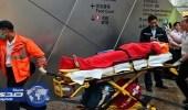بالفيديو.. إصابة 18 صينيا بسبب عكس سلم كهربائي اتجاهه فجأة
