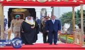الرئيس عبد الفتاح السيسي لملك البحرين: أمن الخليج العربي من أمن مصر القومي
