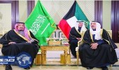خادم الحرمين يبعث برسالة خطية لأمير الكويت لتعزيز العلاقات