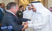 خادم الحرمين وملك الأردن يشهدان توقيع اتفاقيات بين البلدين