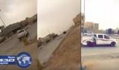 بالفيديو.. تفحيط «وانيت» ينتهي بكارثة