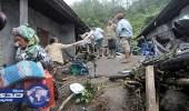 مصرع 27  شخصا في انهيار أرضي بإندونيسيا