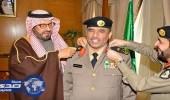 مدير شرطة حائل يقلد ضباط رتبهم الجديدة